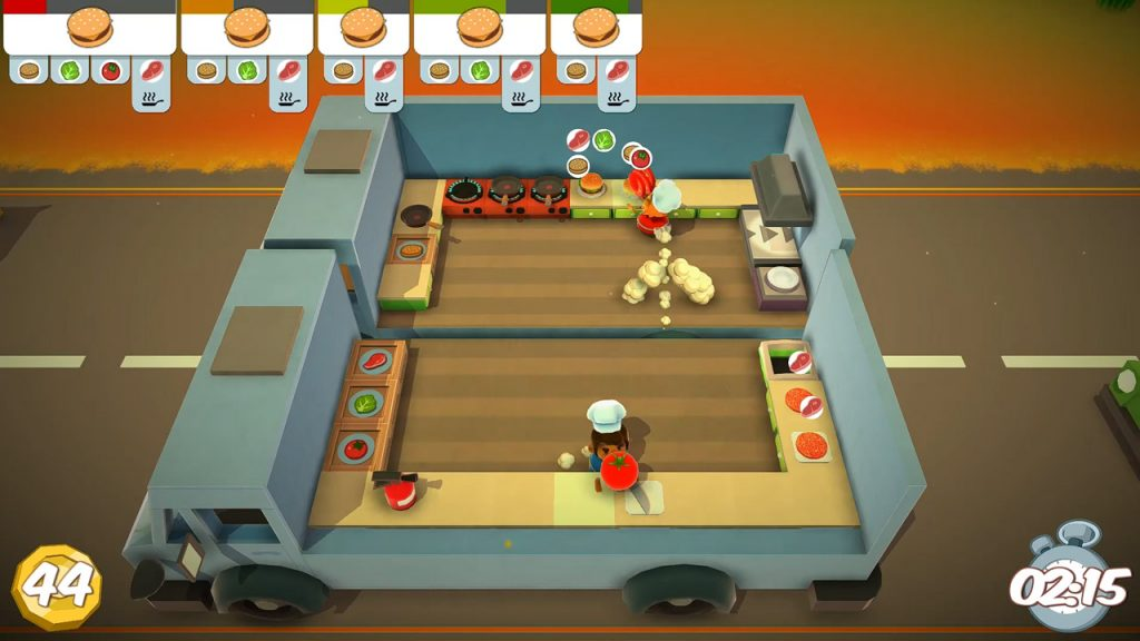 best couch co op game, overcooked