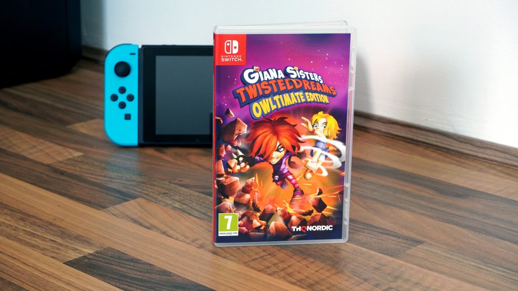 Giana Sisters Twisted Dreams Switch Game