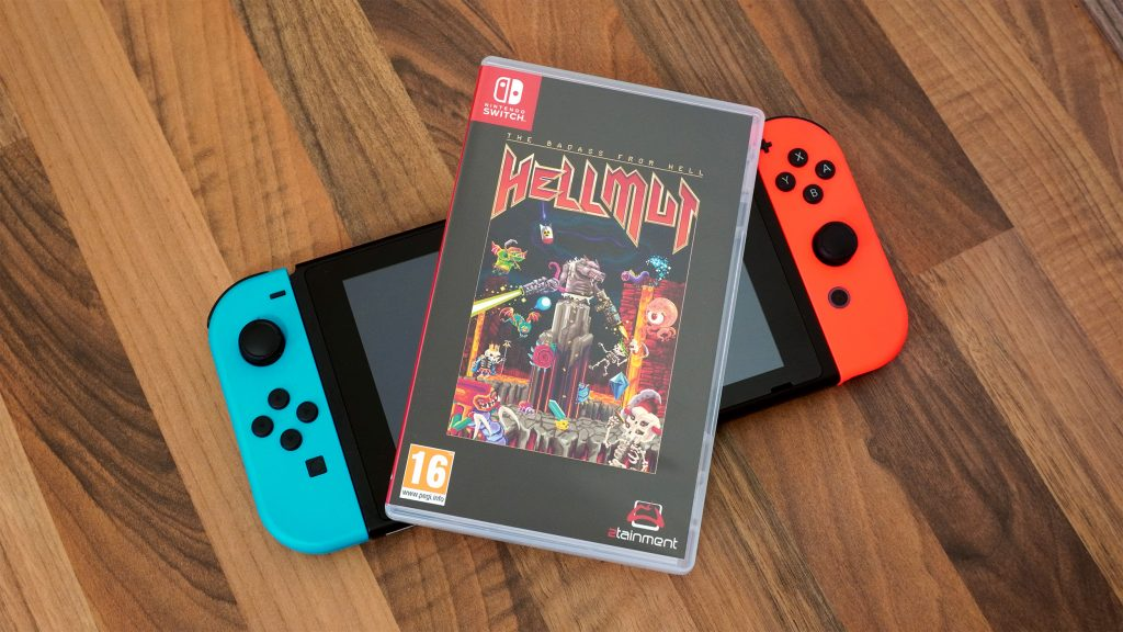 Hellmut Bad Ass From Hell Switch Game