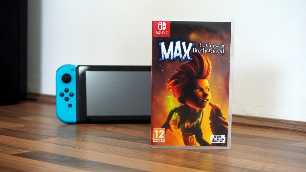 Max and the Curse of the Brotherhood Nintendo Switch