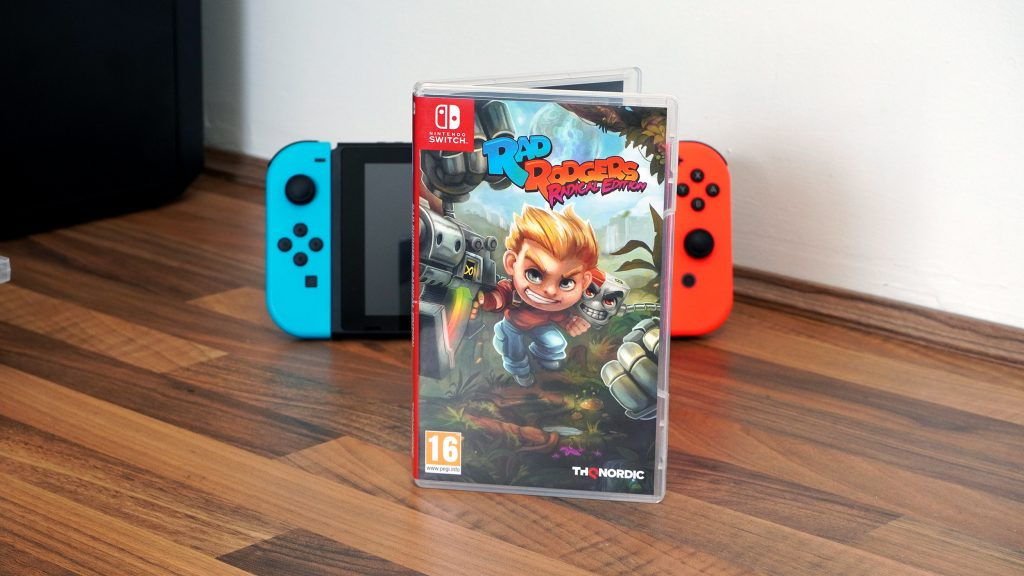 Rad Rodgers games on the Switch